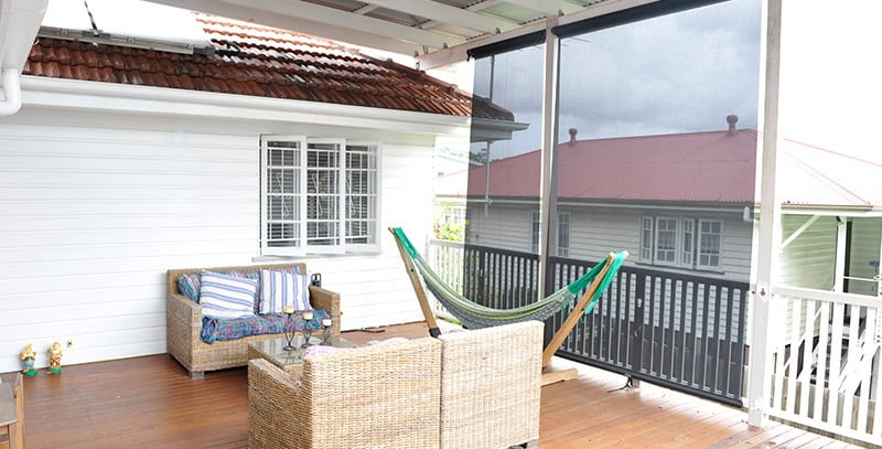 an old Brisbane house renovated to make new again.