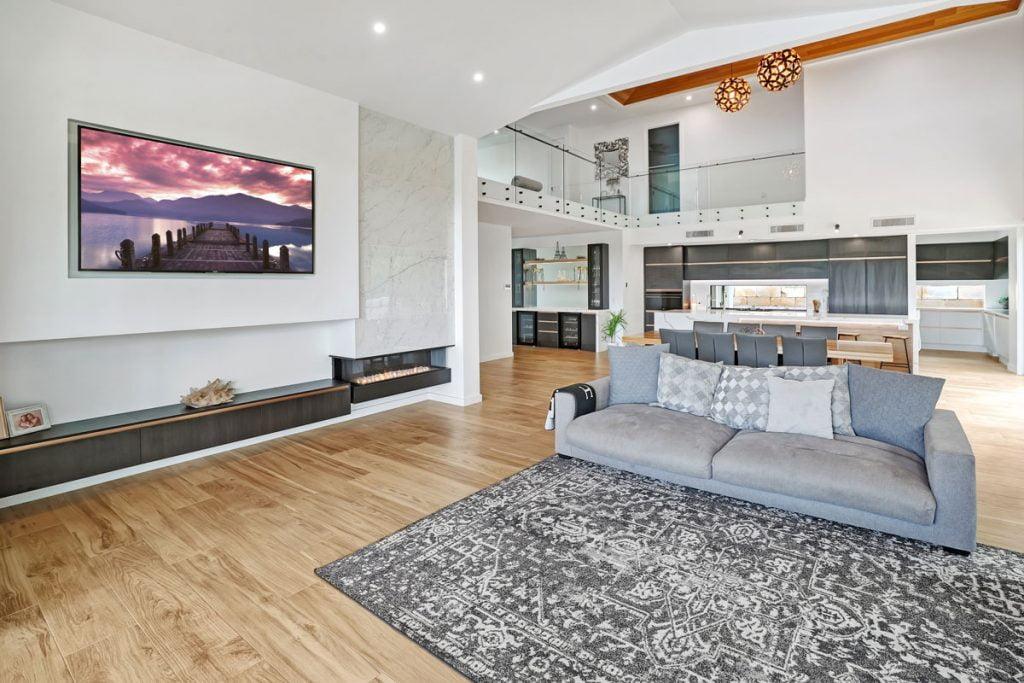 Luxury home renovation.