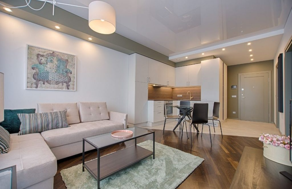 beautiful decorated apartment | featured image for apartment renovation ideas